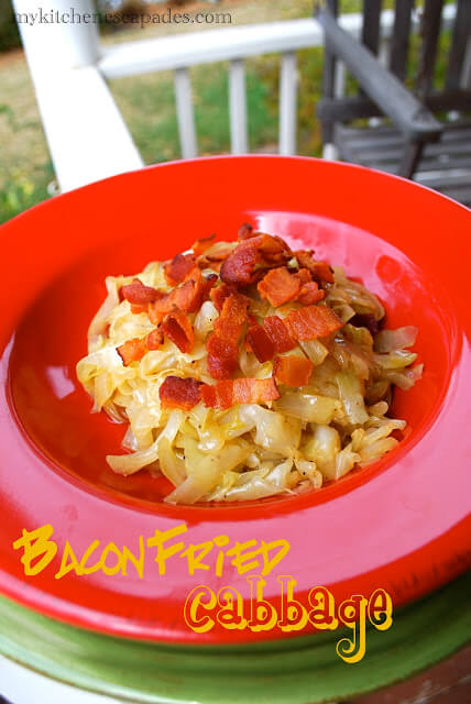 Bacon Fried Cabbage