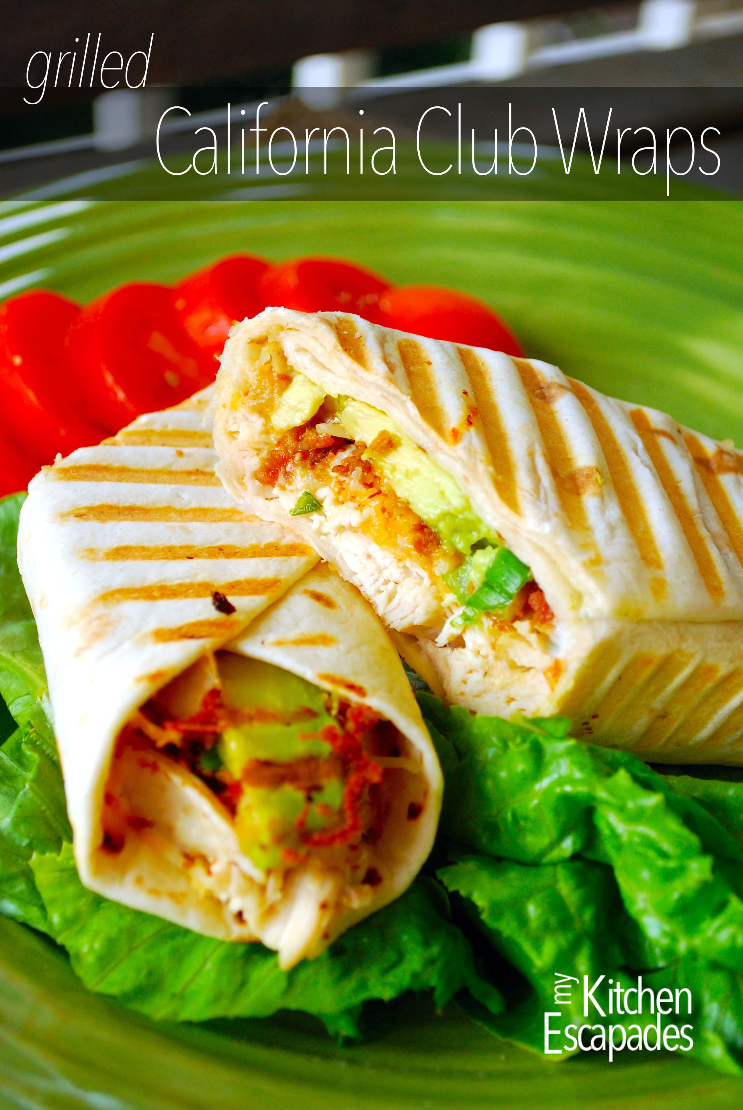 Grilled California Chicken Wraps