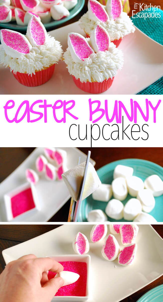 Easter Bunny Cupcakes | Easter Treats
