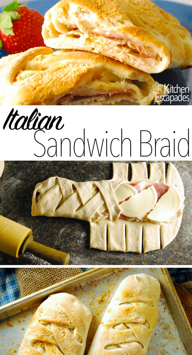 Hot Italian Sandwich Braid