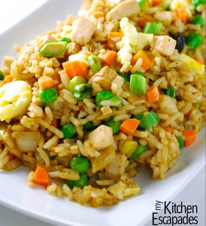 The Best Chicken Fried Rice Recipe