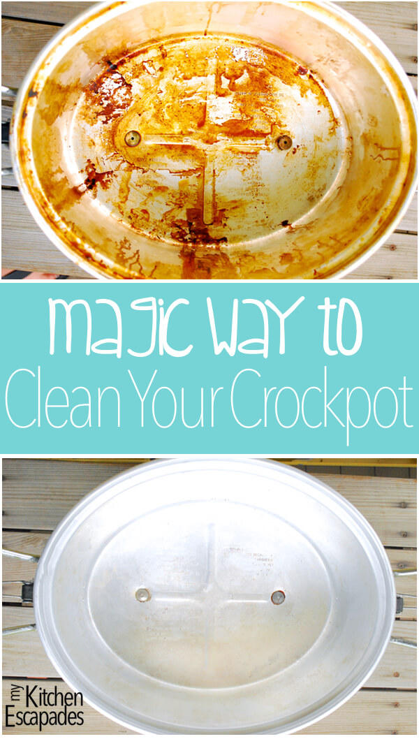Magic Way to Clean a Crockpot