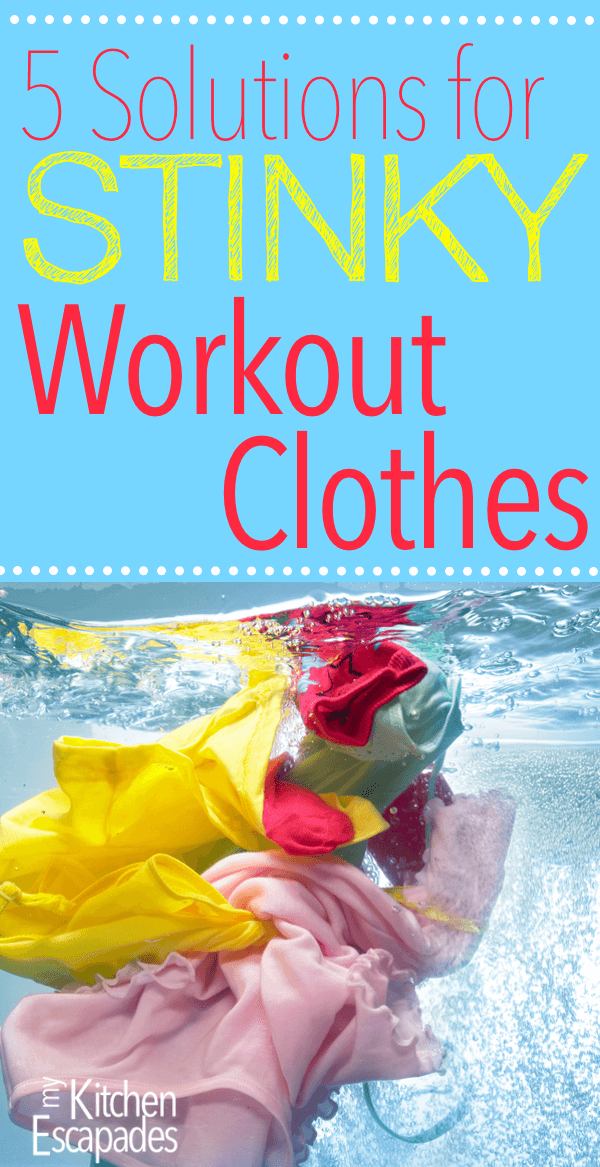 5 Short Solutions to Stinky Workout Clothes - all the tips and tricks to care for exercise gear