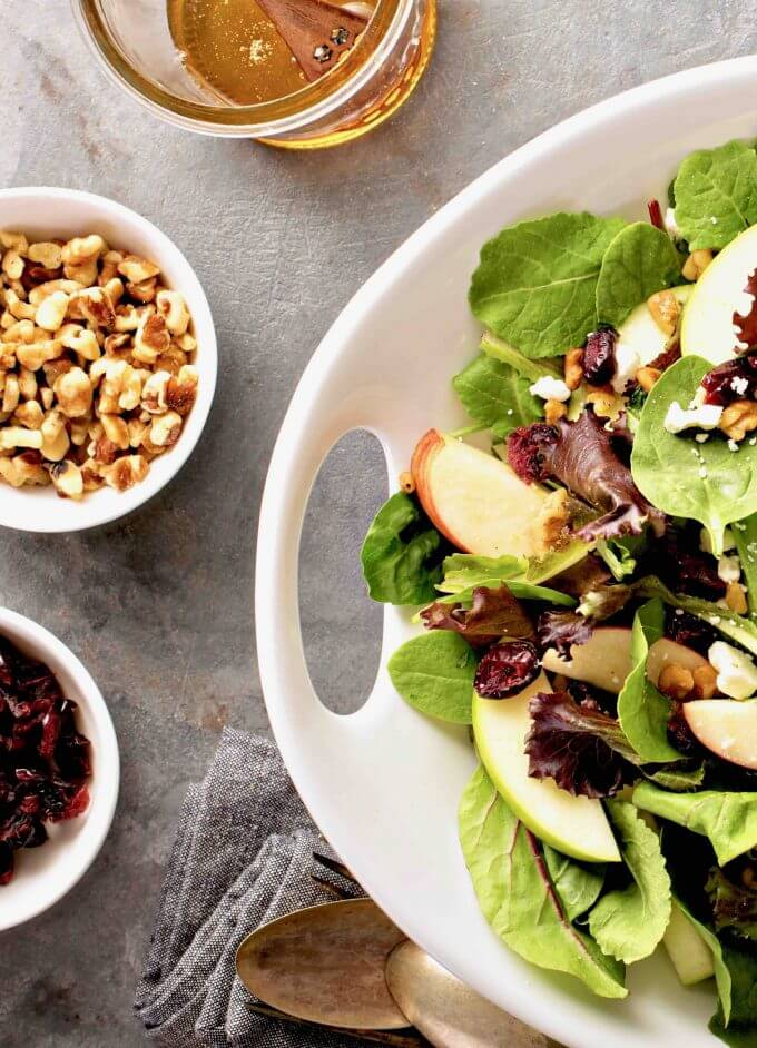 Pear Salad Recipe | Fall Salad Recipes