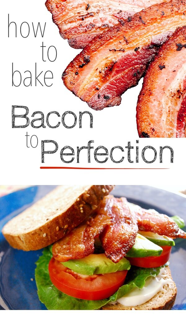 How to make the PERFECT bacon every single time! Throw away the fry pan and do it in the oven. So simple and bacon turns out flat and amazing!