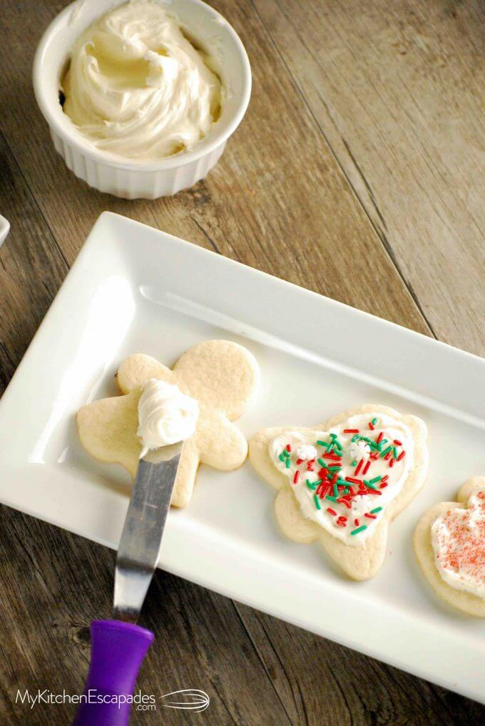 Easy Sugar Cookie Recipe - Rolled Sugar Cookies