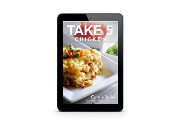 Take 5 Chicken Cookbook - digital