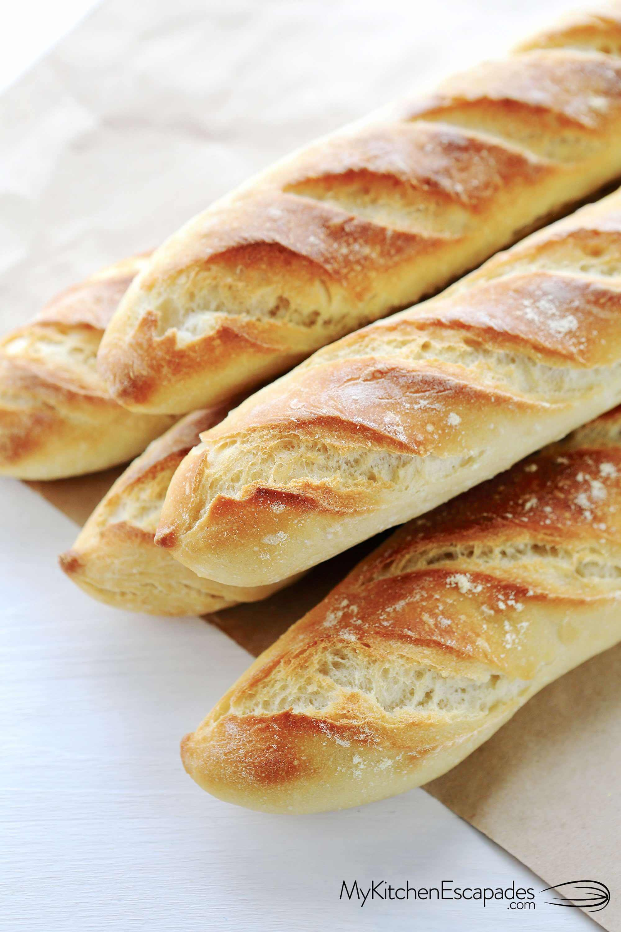 Easy French Bread Recipe | Homemade French Bread