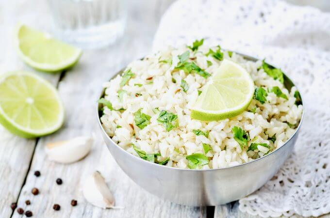 Cilantro Lime Rice recipe
