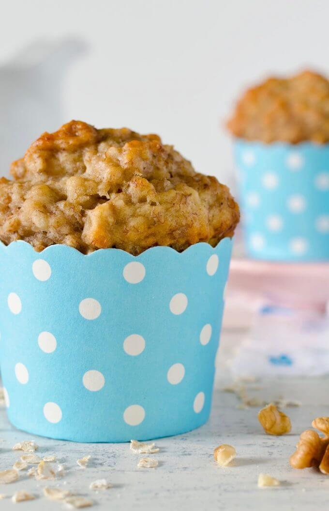 Morning Glory Muffin Recipe | Healthy Breakfast Muffins