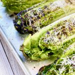 Grilled Romaine Lettuce with Parmesan Cheese Recipe | VIDEO
