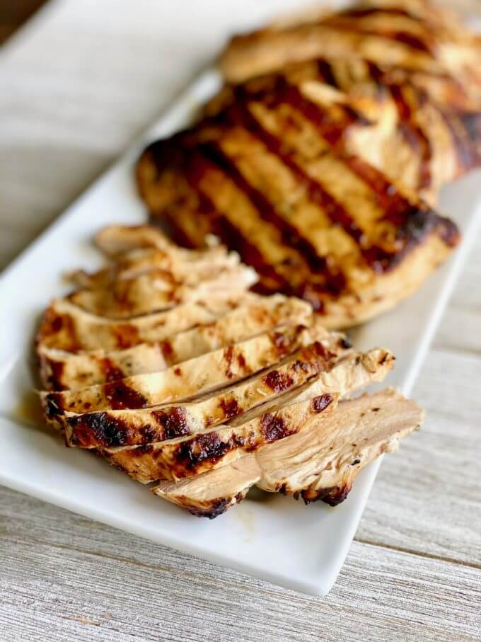 Chicken Breast Marinade for the grill