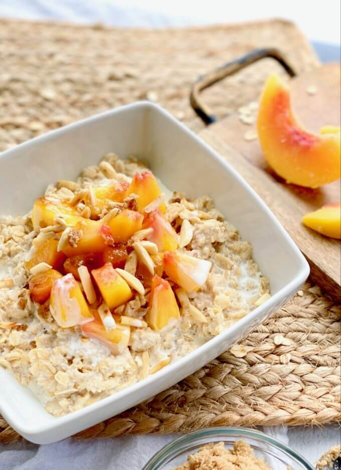 peaches and cream oatmeal recipe